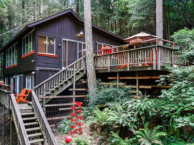 Big Bertha s! Perfectly Equipped Forest Retreat! - Guerneville 7432e9551
