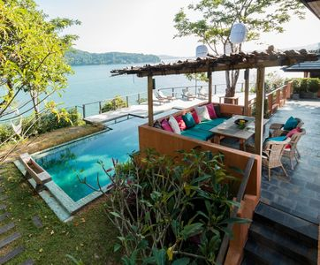 Photo for Nam Bo Villa by Lofty - Oceanfront private pool villa with maid and cook