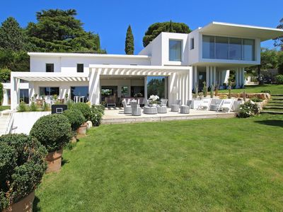 Photo for Cannes Villa 10 people Modern High Standing Panoramic Sea view