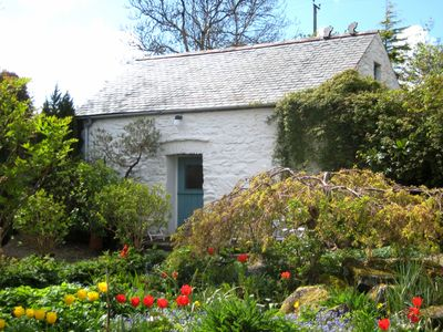 Photo for One Room Cottage 1 mile from the sea set In Dyffryn Fernant Garden