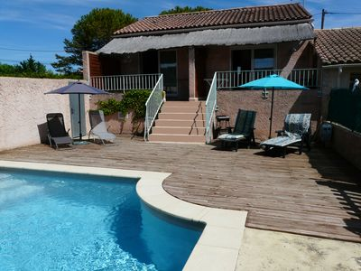 Photo for Nice cottage with pool for 4 people in Cavaillon near the Luberon