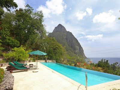 Photo for *Please Enquire*Specials Available on this gorgeous 6 bedroom villa on Malgretoute Bay Soufriere