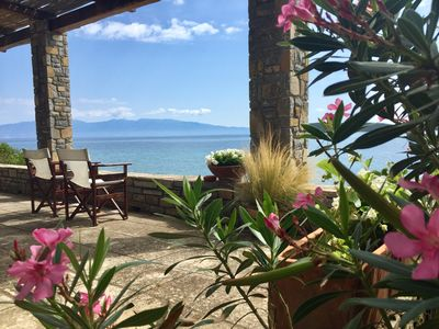 Photo for Happiness is a cottage by the sea with independent guest house.