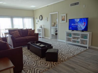Photo for Cozy San Remo Condo w/ Large Balcony, Gulf Front Complex Pool & Free WiFi