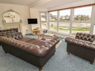 Photo for Sea View apartment, BORTH-Y-GEST