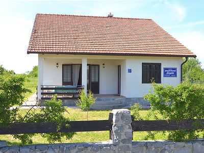 Photo for Vacation home Vacation house Loreta-sea&mountain in Lovinac - 4 persons, 2 bedrooms