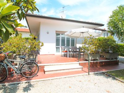 Photo for SPECTACULAR VILLA 200 METERS FROM THE SEA WITH GARDEN, PARKING PLACE AND WIFI