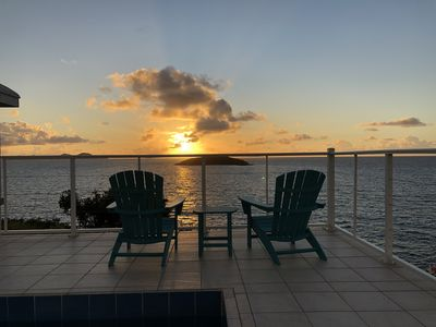 Photo for Beautiful Oceanfront Villa with Lap Pool!