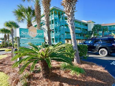 Photo for CUTE AND COZY CONDO, DEEDED BEACH ACCESS ACROSS STREET,  TWO ELEVATORS