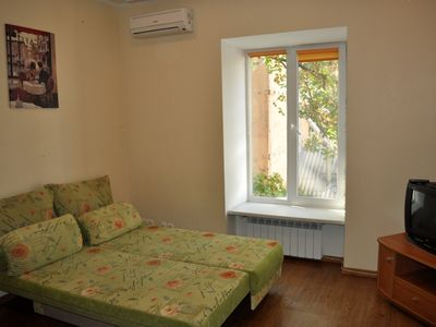 Photo for Historical Center Of Odessa Near  To Deribasovskaya One-bedroom Apartment In The Heart Of Odess