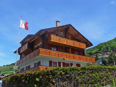 Photo for Apartment Bergfink in Grächen - 4 persons, 2 bedrooms