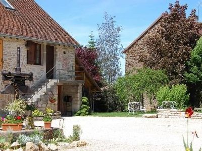 Photo for Independent cottage for 4 people, fenced garden, swimming pool.
