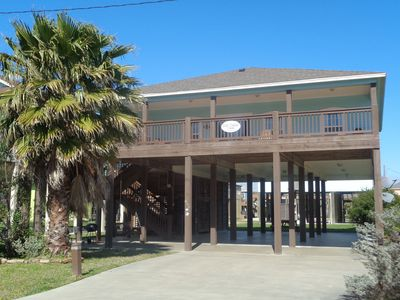 Photo for Goin' Coastal: 4  BR, 2  BA House in Crystal Beach, Sleeps 11