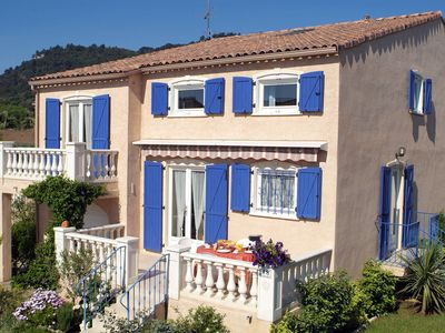 Photo for Comfortable villas on a delightful holiday park with a large outdoor swimming centre