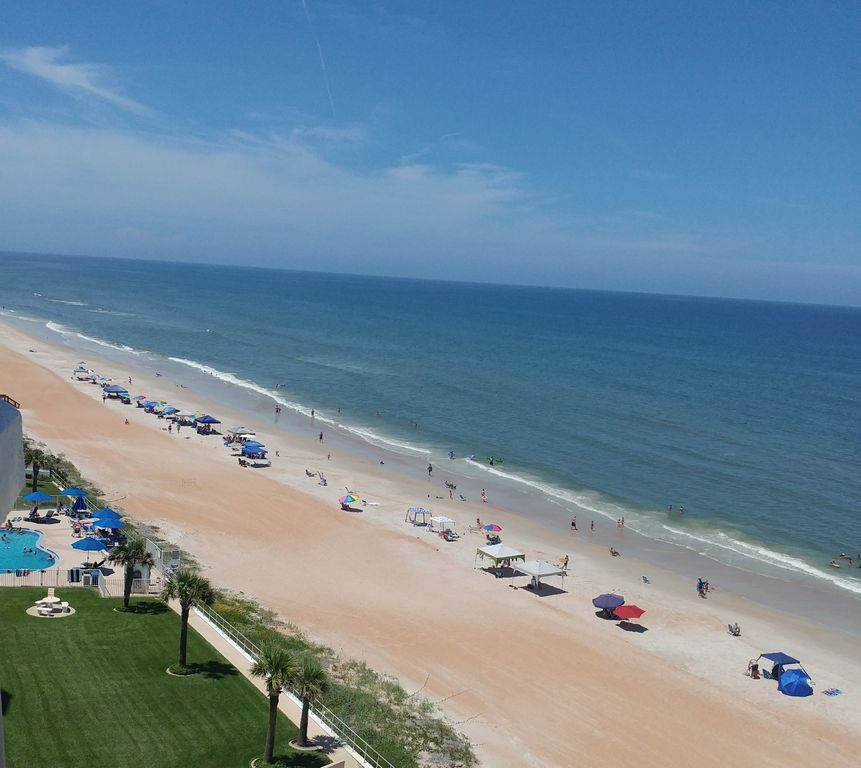 Private 2 Bedroom Condo In Ormond By The Sea Florida Beach Front