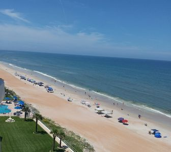 Photo for Private 2 bedroom Condo in Ormond by the Sea Florida. Beach front!