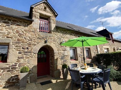 Photo for 3BR House Vacation Rental in Plouguenast, Bretagne