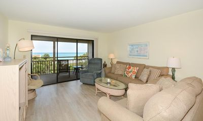 Photo for Chinaberry 453  - 2 Bedroom Condo with Private Beach with lounge chairs & umbrella provided, 2 Pools, Fitness Center and Tennis Courts.