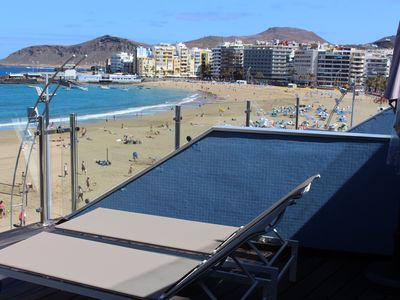 Photo for Spectacular Apartment First Line of the Beach and the Paseo de Las Canteras