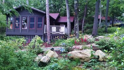 Photo for Lake Winnipesaukee Waterfront Cottage 9, private and special!!!