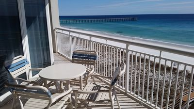 Photo for Beautiful, Gulf-Front Condo at The Pearl! Recently Renovated!