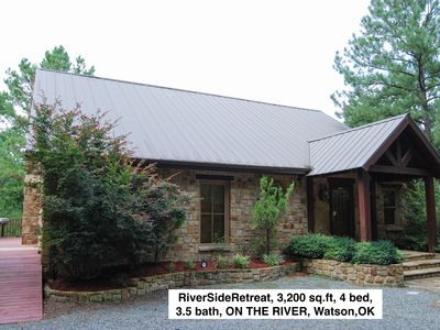 Photo for Riverside Retreat Cabin - Moutain Fork River in SE Oklahoma