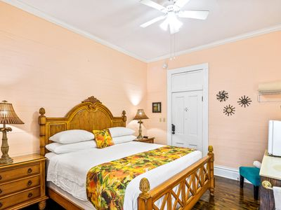 Photo for Charming main-floor suite in historic bed & breakfast - shared swimming pool!