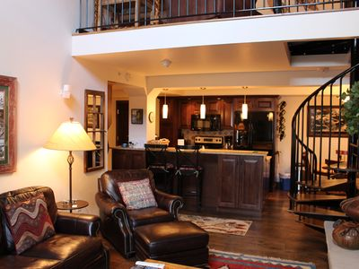 Photo for Located in the heart of Vail Village. Underground parking, hot tub & pool!