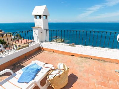 Photo for Vacation home Los Geranios in Roses - 4 persons, 2 bedrooms
