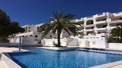 Photo for Turquoise Apartment. Cala Tarida.