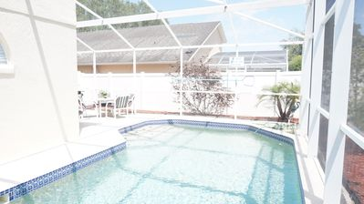 Photo for Lovely Spacious Vacation Home heated pool