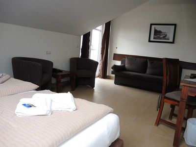 Photo for Suite 32 with balcony and sea side - Usedom Bike-Hotel & Suites *** 80 m to the Baltic Sea beach
