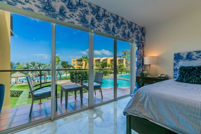 view from the master bedroom: wow!!!