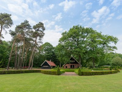 Photo for Mansion with ensuite bathrooms, 10,000m2 garden and heated terrace, Het Hulsbeek