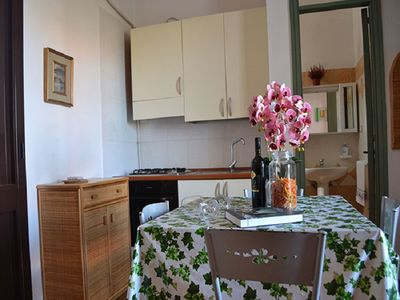 Photo for Cosy Apartment Near the Beach with Balcony & Air Conditioning; Pets Allowed