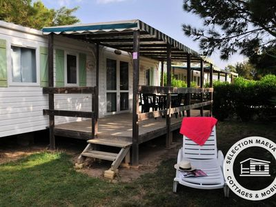 Photo for Camping Les Tropiques **** - Maeva Camping - Cottage Guava 3 Rooms 4/6 People