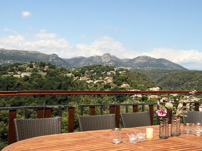 Photo for Panorama Villa, 8-12 Pers. With Pool Near Vence, Nice And Cannes