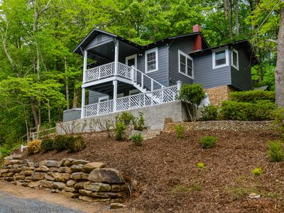 Photo for Lake Lure Cottage On The Hill, 2 bedroom, 1 bath. Walk to river/activities/town.