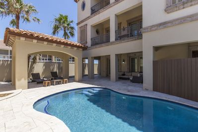 Private pool located in the middle of the property!