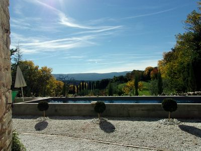 The panoramic view on Luberon !