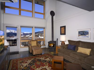 Photo for Fantastic Ski-In Ski-Out Condo Overlooking the Base Area! Views and Hot Tub!