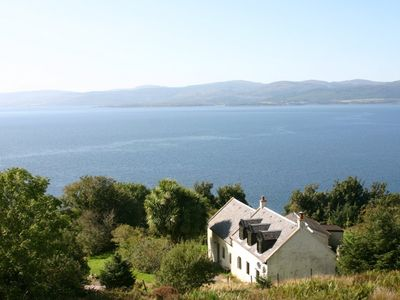 Photo for A beautiful and remote farmhouse on the Isle of Arran with outstanding sea views