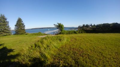 Down the Georges River. Port Clyde & eventually Monhegan Isl. are to the right.
