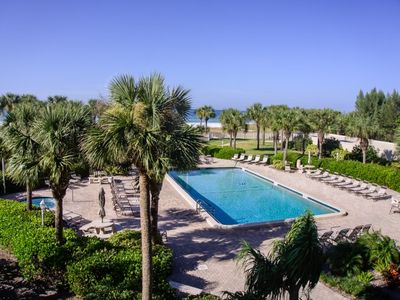 Photo for Horizons West #105 is a Beautiful Gulf Front 1 Br, 1 Ba Condo on Siesta Key, #1 Beach In The USA!
