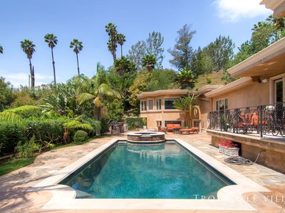 Photo for Jawdropping Mediterranean Villa With Pool & Hot Tub Located in Elite LA Area