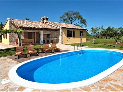 Photo for Villa Stancija Fiore with Pool surrounded  by Meadows and Forest in Central Istria