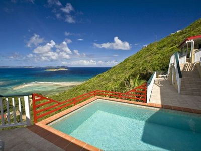 Photo for Casa De Suenos has views to the BVI - Call for rates for smaller parties