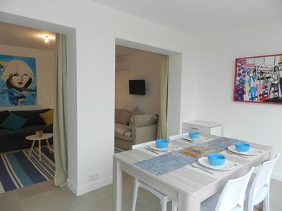 Photo for Beautiful apartment for 4 people with A/C, WIFI, pool, TV and parking