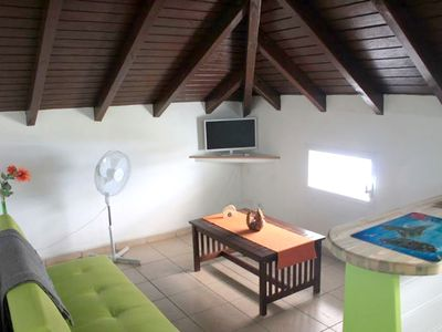 Photo for Homerez last minute deal - Nice studio with garden and terrace