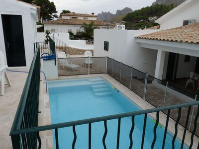Photo for Majorcan traditional summer house 200m from the beach, private pool